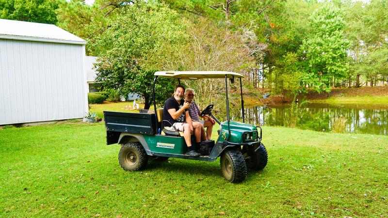 Rejean et Ives  MillerPond Brooklet, Georgia